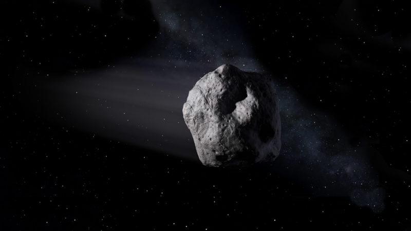 Asteroid Menabrak Bumi