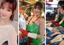 Bak Model, Inilah 10 Potret Penjual Ikan Paling Cantik Di Dunia Ini Yang Sedang Viral! Dafunda Gokil (1)