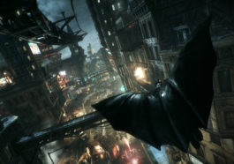 Batman Arkham Knight Flying