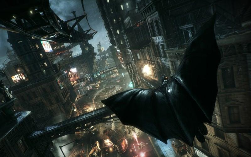 Batman Arkham Knight Flying