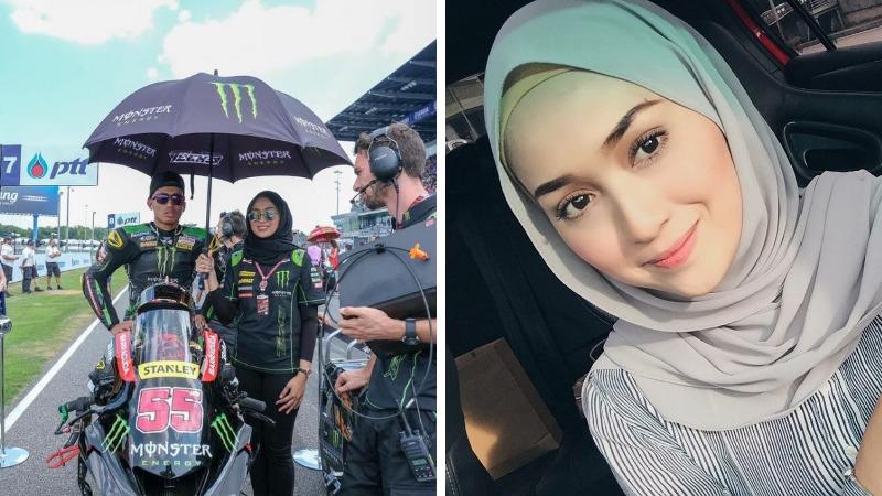 Cantik Banget, 10 Pesona Suzana Manaf, Hijaber Yang Menjadi 'umbrella Girl' Motogp! Dafunda Gokil
