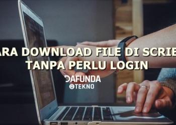 Cara Download Di Scrib Tanpa Login