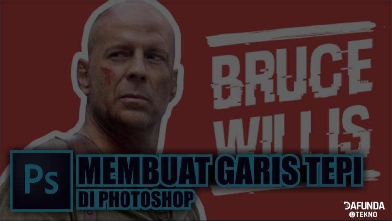 Cara Membuat Garis Tepi Di Photoshop