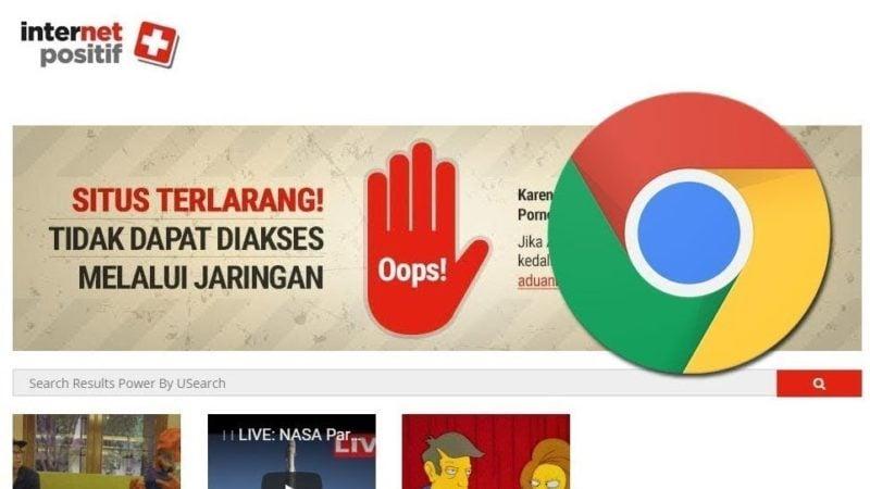 Cara Membuka Situs Yang Diblokir Internet Positif Di Google Chrome Tanpa Aplikasi