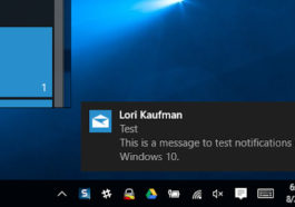 Cara Memunculkan Notifikasi Android Di Windows 10