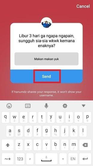 Cara Menggunakan Ask Me Questions Di Instagram6