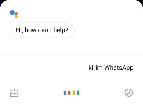 Cara Mengirim Pesan Whatsapp Lewat Google Assistant