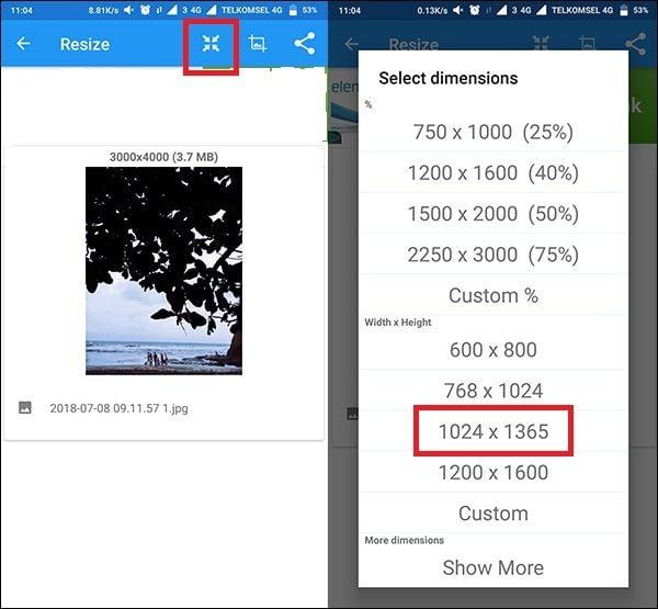 Cara Mengubah Resolusi Foto Di Android Sangat Mudah Dafunda Tekno