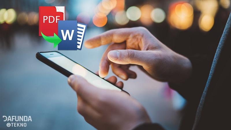 Cara Mengubah Word Ke Pdf Di Hp Android