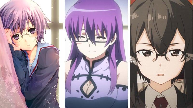 Cewek Anime Berkacamata (Megane) Paling Kawaii Dafunda Otaku