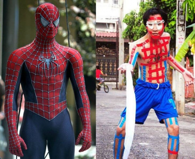 Cosplay Superhero Low Budget 3
