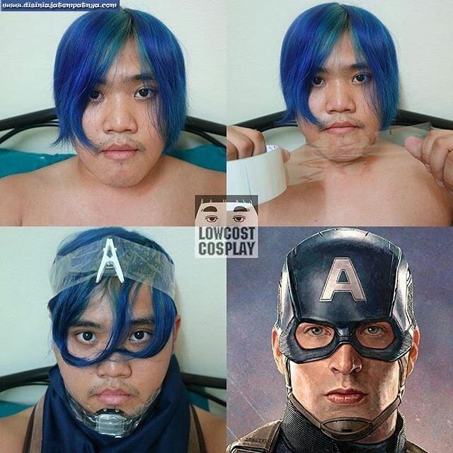 Cosplay Superhero Low Budget 4