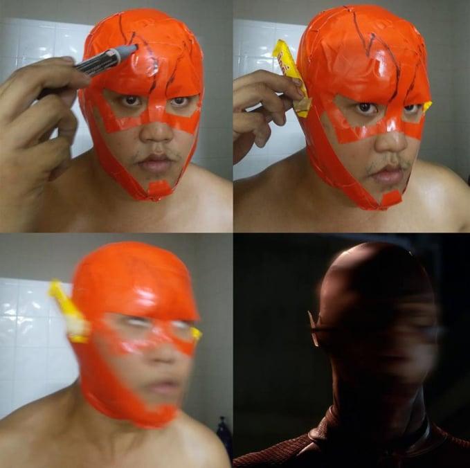 Cosplay Superhero Low Budget 9