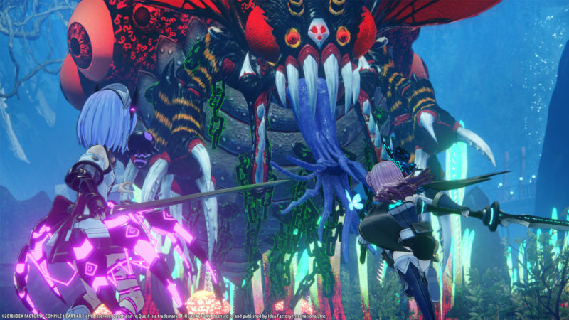 Death End Request Gameplay