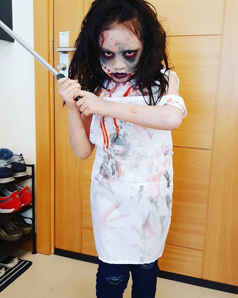 Gadis Kostum Halloween