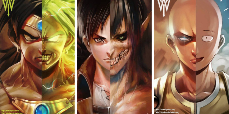 Gambar Fanmade Anime Overpower Yang Keren! Dafunda Otaku