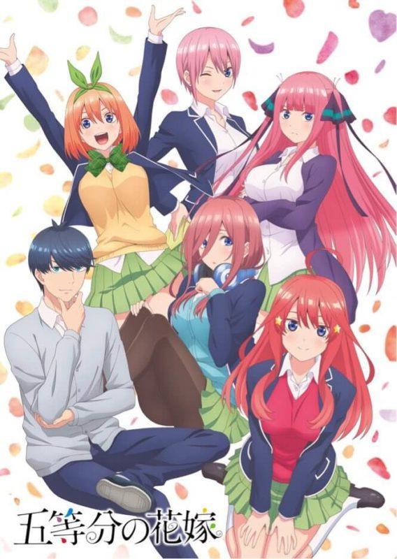 Gotoubun Visual Anime