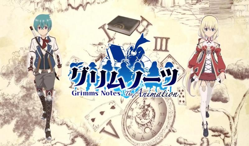 Grimms Note Animation
