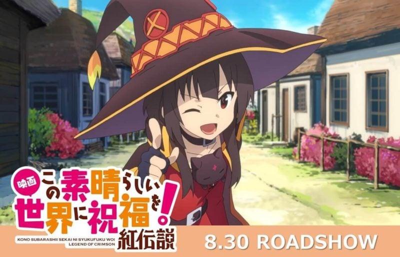 Jadwal Tayang Film Konosuba