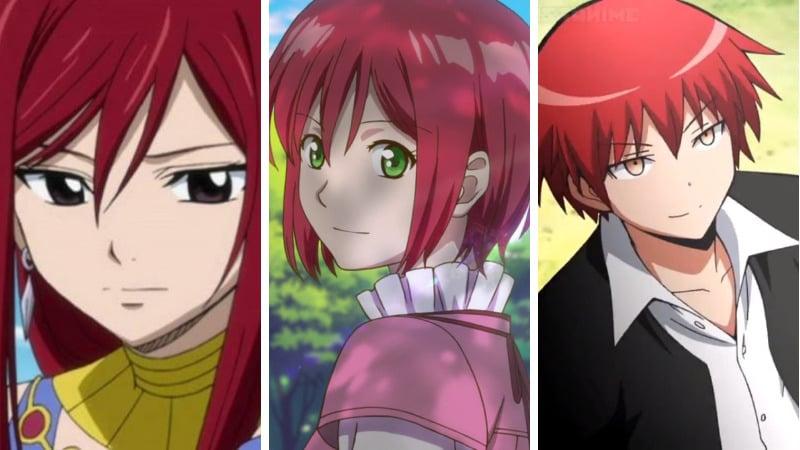 Karakter Anime Berambut Merah, Cewek Anime Rambut Merah Paling Kawaii Dafunda Otaku