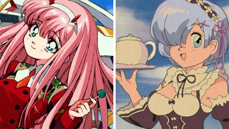 Karakter Anime Versi 90 An Dafunda Otaku