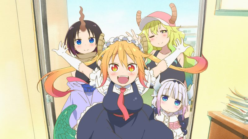 Anime Kobayashi-san Chi no Maid Dragon Akan Mendapatkan Season Keduanya!