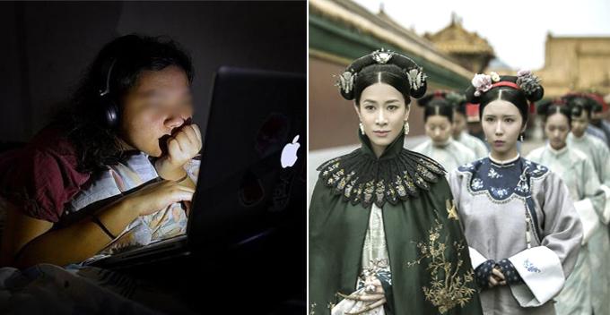 Maraton Drama 7 Hari Gadis Cina Kena Stroke Mata