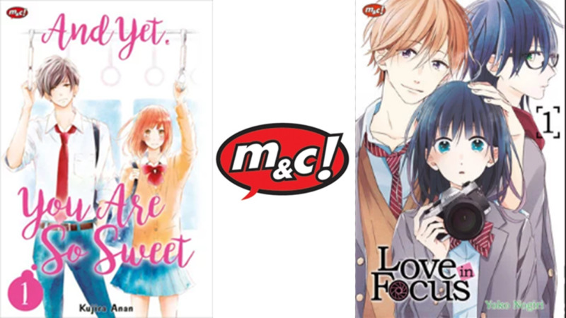 M&C! Melisesikan Komik 'Love in Focus' dan 'And Yet, You are So Sweet'
