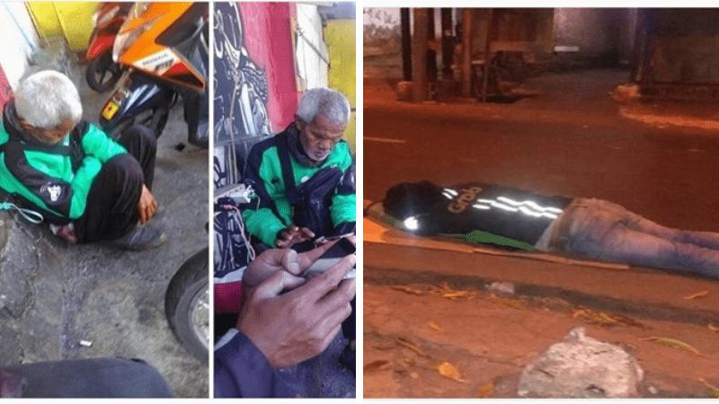 Mengharukan, 10 Potret Perjuangan Keras Driver Ojol Mencari Nafkah Buat Kamu Makin Bersyukur! Dafunda Gokil