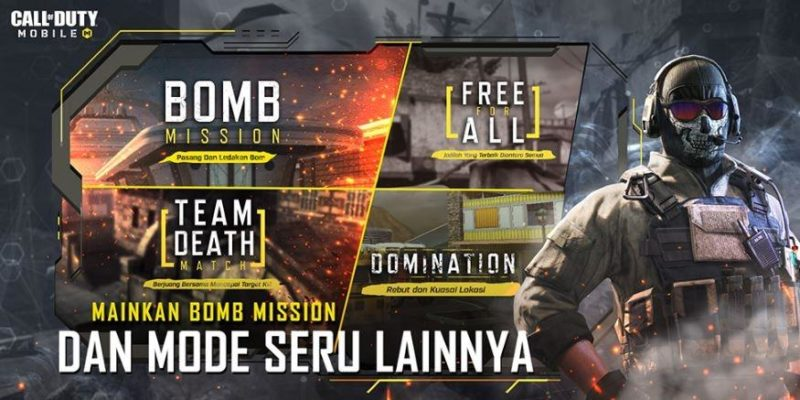 Mode Call Of Duty Mobile Codm