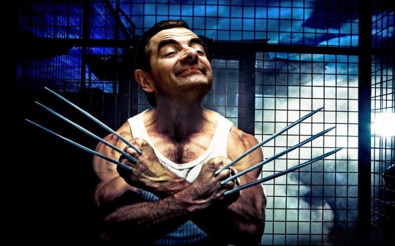 Mr Bean Photoshop 6