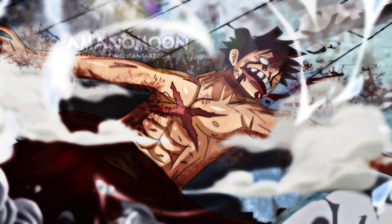 Onepiece Chapter 923 Luffy Vs Kaido Ko Death By Amanomoon Dcqy3tf