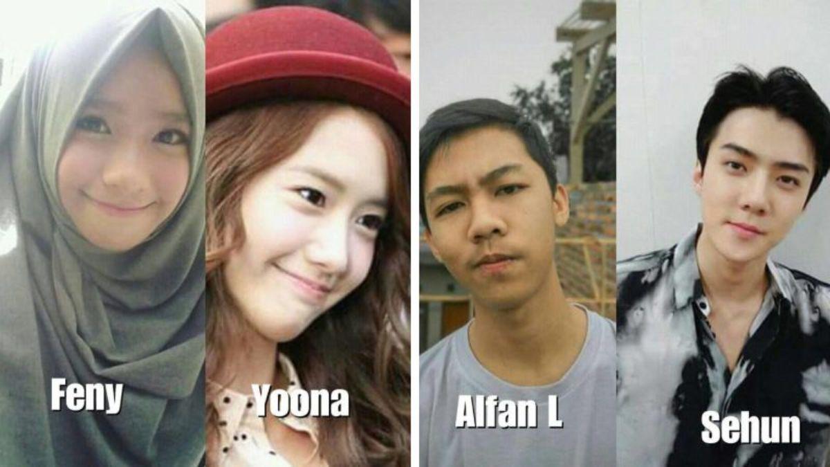 orang indonesia yang mirip artis korea dan kpop dafunda gokil