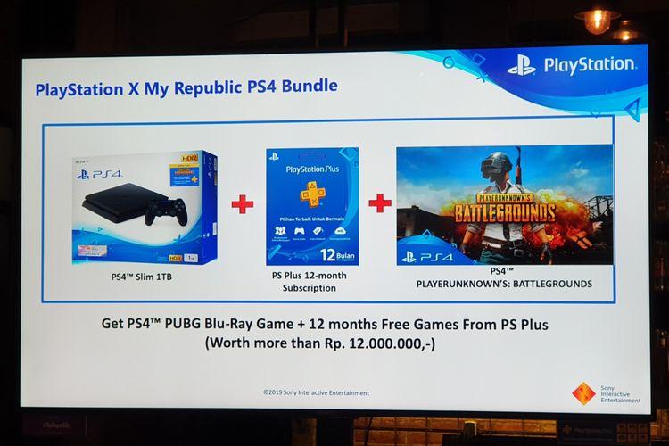 Paket Internet Myrepublic Playstation 4