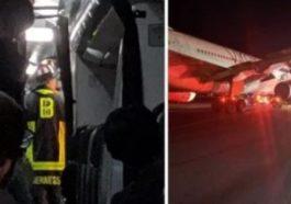 Penyebab Pesawat Terbakar
