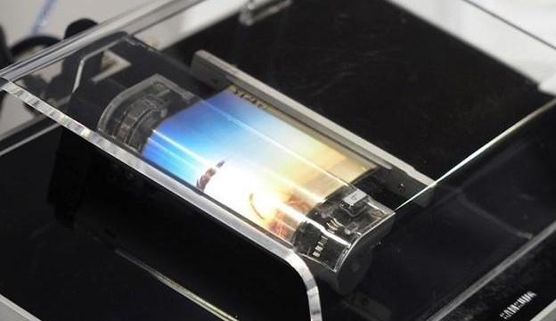 Ponsel Layar Gulung Sony
