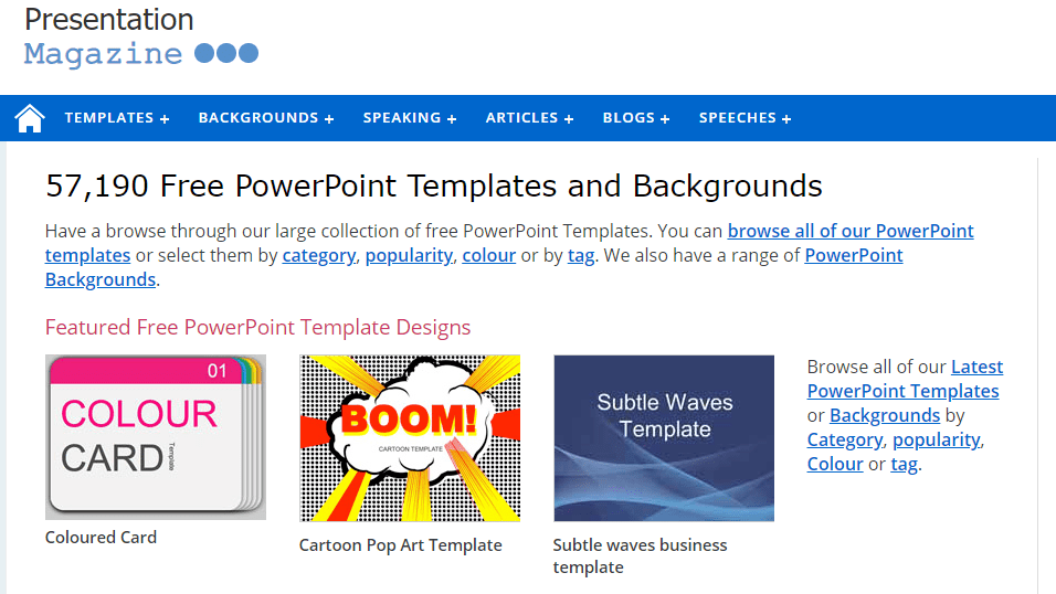 Rekomendasi Situs Download Template Powerpoint Gratis Ppt Template 4