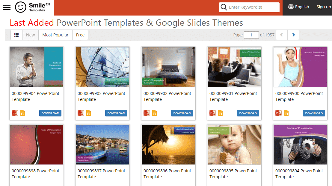 Rekomendasi Situs Download Template Powerpoint Gratis Ppt Template 7