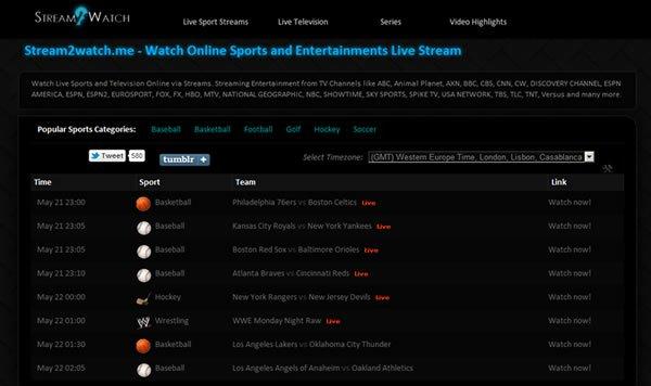 Rekomendasi Situs Live Streaming Sepakbola Terbaik Stream2watch