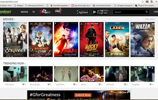 Situs Streaming Film Terbaik2