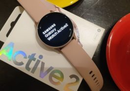 Tampilan Samsung Galaxy Watch Active 2