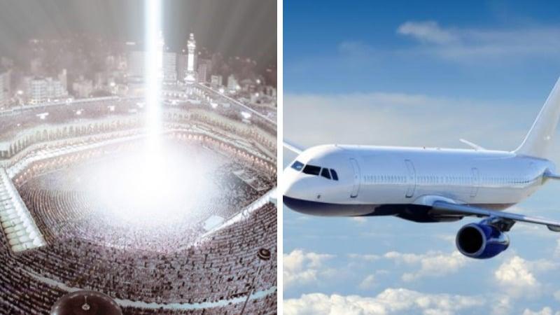 Terungkap, Ternyata Inilah Alasan Dibalik Kenapa Tak Pernah Ada Pesawat Melintasi Langit Kak'bah! Dafunda Gokil