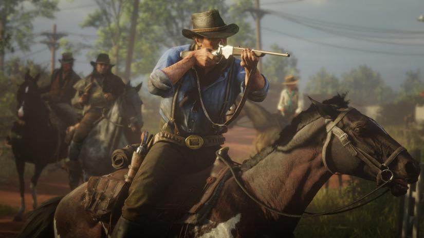 Trailer Peluncuran Red Dead Redemption 2 PC Dirilis