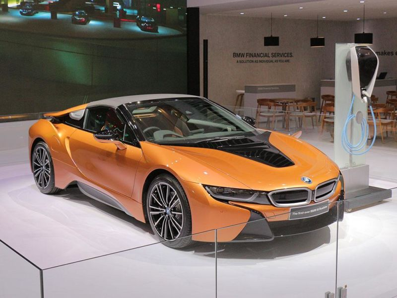 Video Bmw I8 Roadster 1