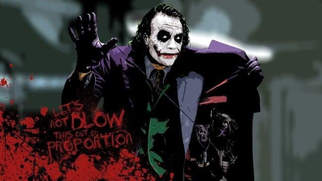 Wallpaper Joker Ledger 2