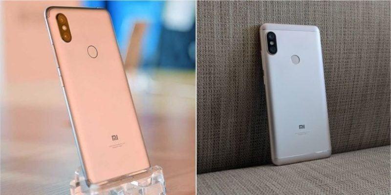 Xiaomi Redmi Note 5 Vs Redmi S2 1