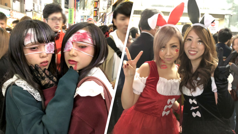 Yuk Lihat Cosplayer Cosplayer Cantik Di Shibuya Pada Malam Halloween!