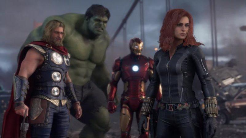 6 Hero Marvel Avangers Game Terbaru