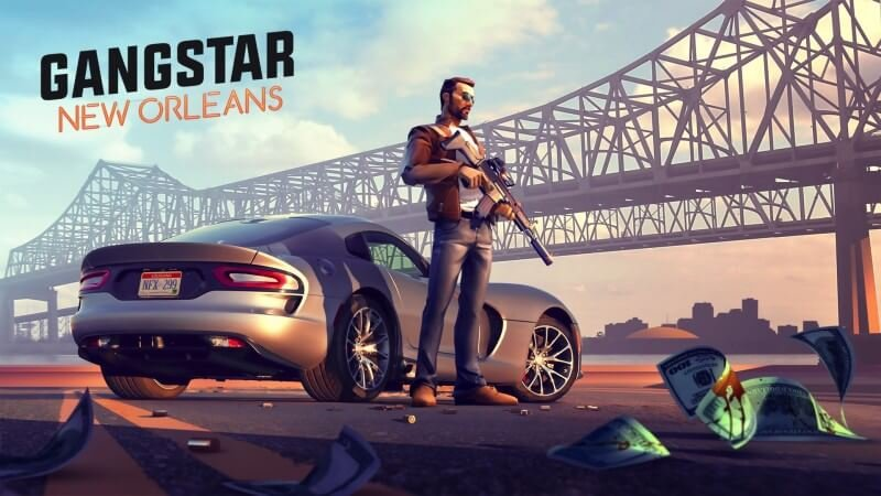 Game Mobile Gameloft SE Terbaik Gangstar New Orleans Openworld