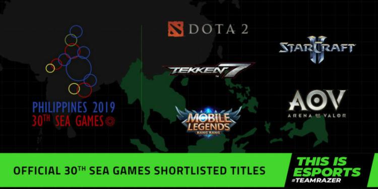 Jadwal Lengkap Pertandingan Esports SEA Games 2019